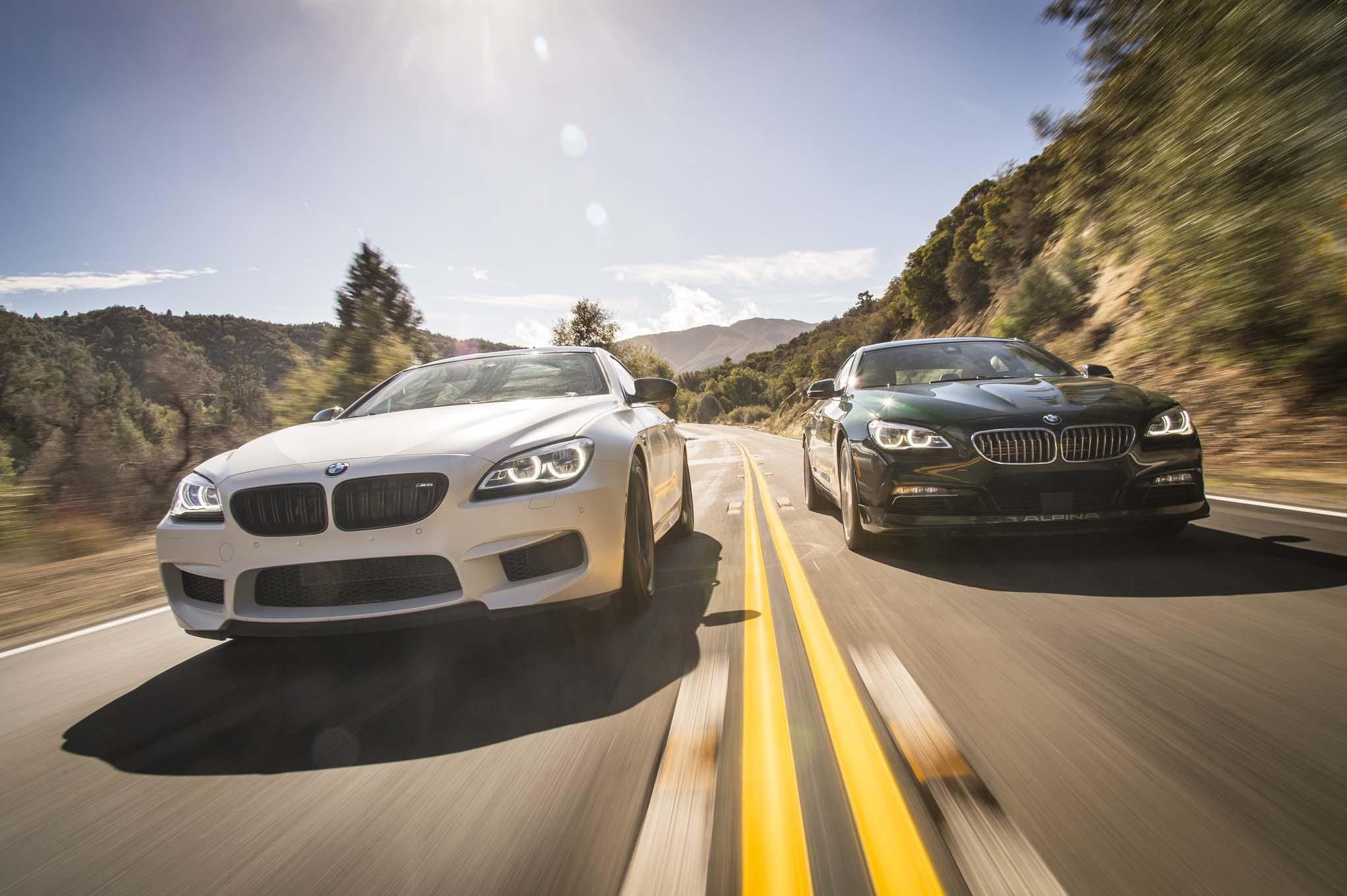 2016 BMW Alpina B6 xDrive Gran Coupe and 2017 BMW M6 Gran Coupe 06