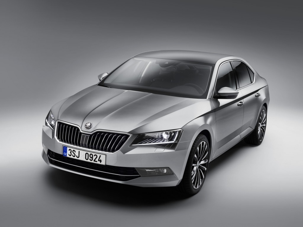 Skoda Superb car in india