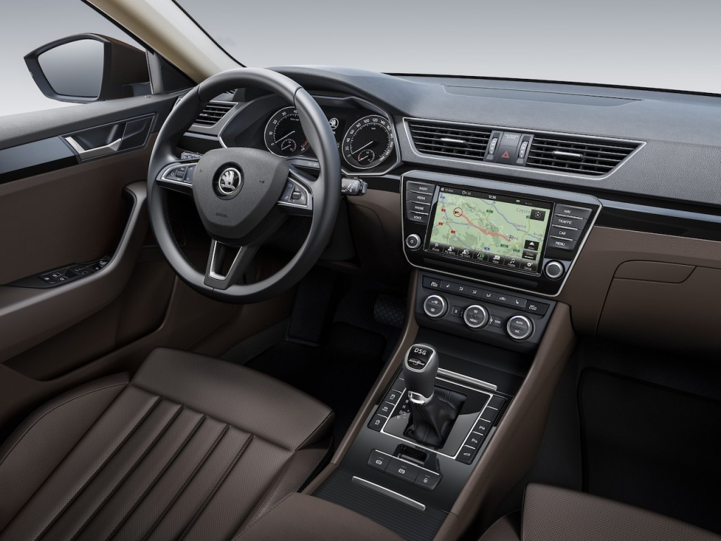 Skoda Superb car 2016