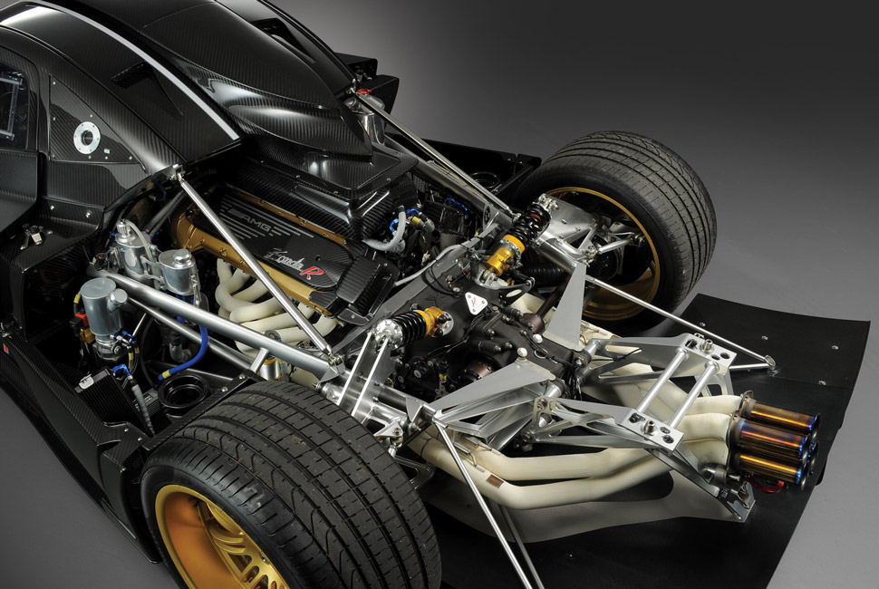 Suspension, chassis, engine -- all are bolted together like one mechanical nervous system of high-strung performance.