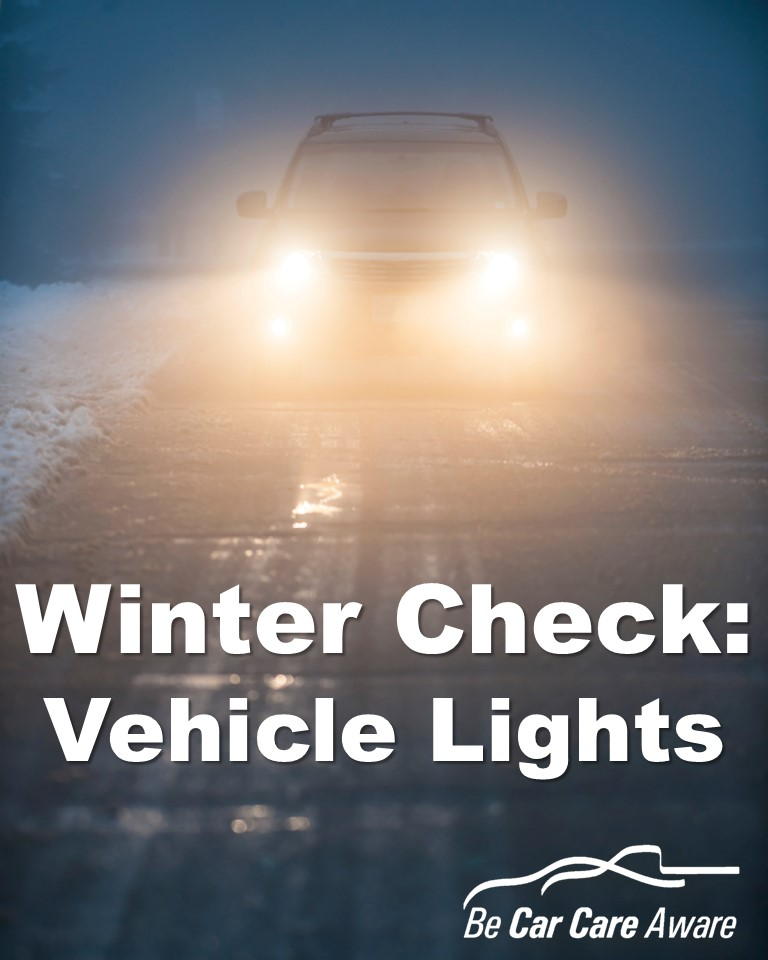 Winter Check_Vehicle Lights