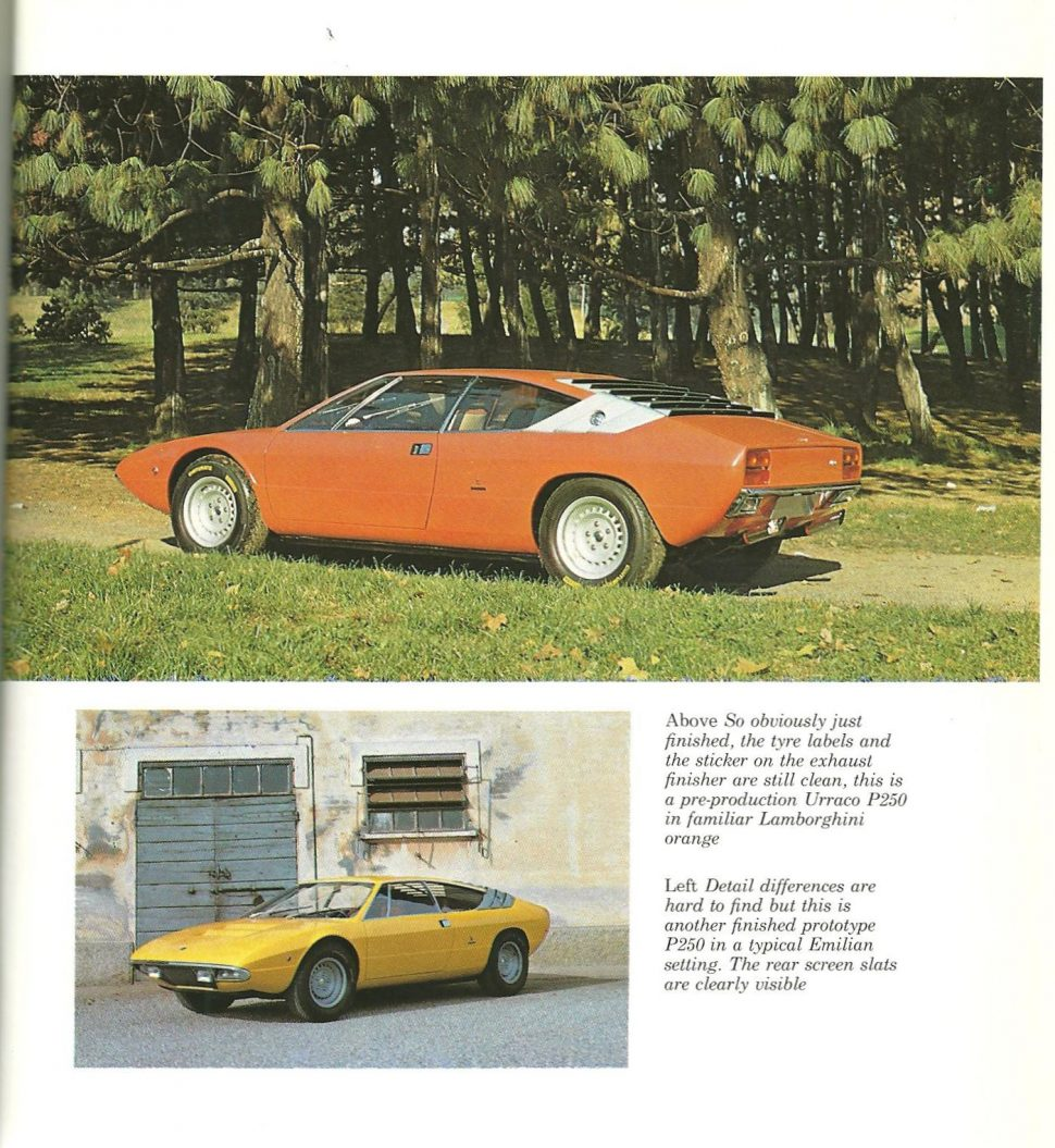 Lamborghini Urraco & The V8s