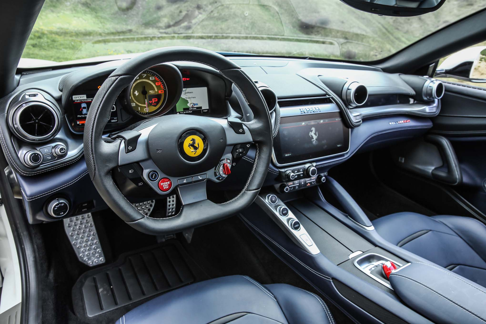 2017-Ferrari-GTC4Lusso-interior-view Remarkable Ferrari Mondial Rear Window Motor Cars Trend