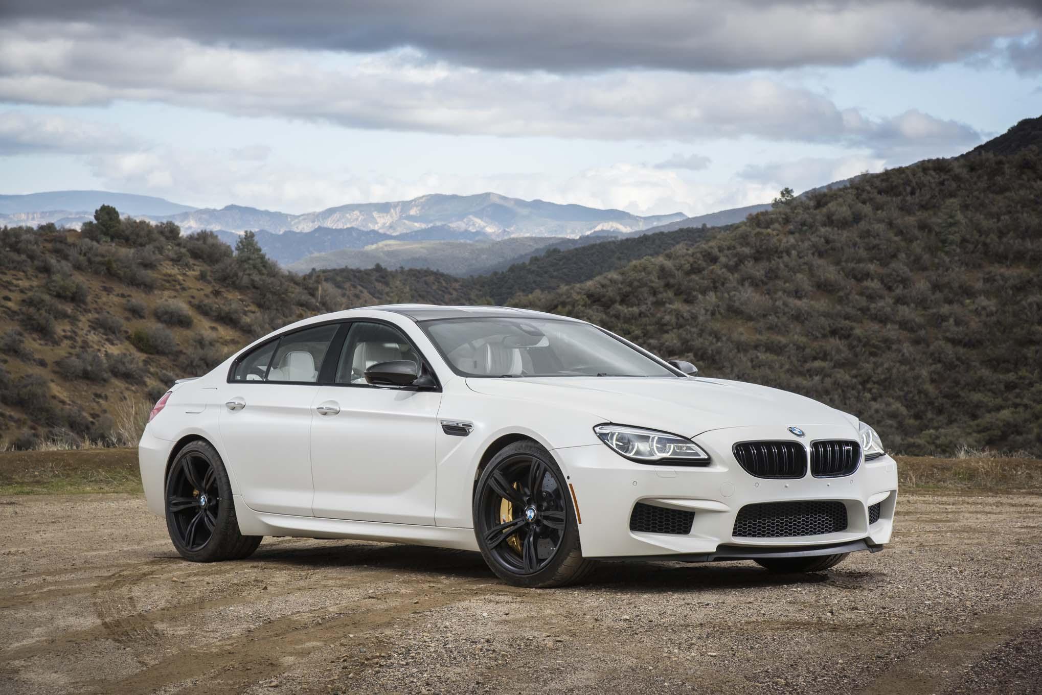 2017 BMW M6 Gran Coupe front three quarter