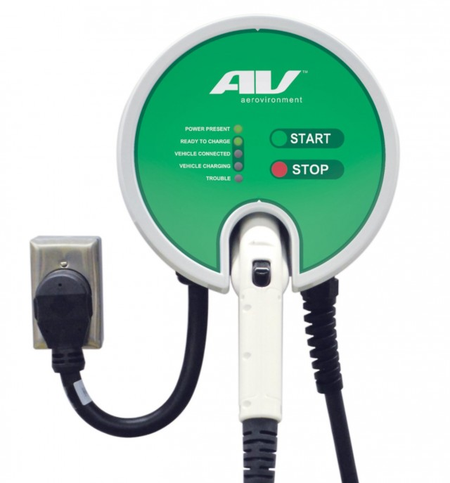 AeroVironment EV Charger electric-car charging station (EVSE)