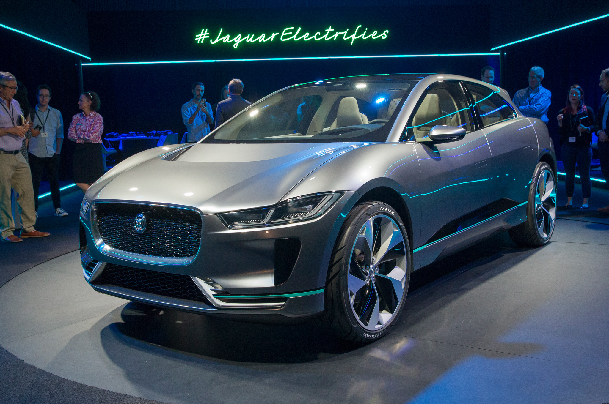 Jaguar i pace concept first look previewing an upcoming for Electric motor repair los angeles