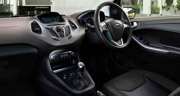 new ford figo interior