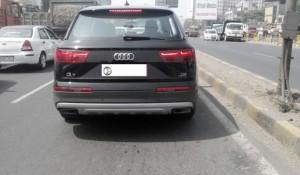 New Model Audi Q7 rear pics