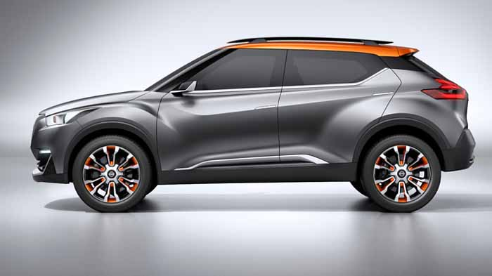 Nissan Kicks Compact Suv Revealed In Video Car News Car Reviews