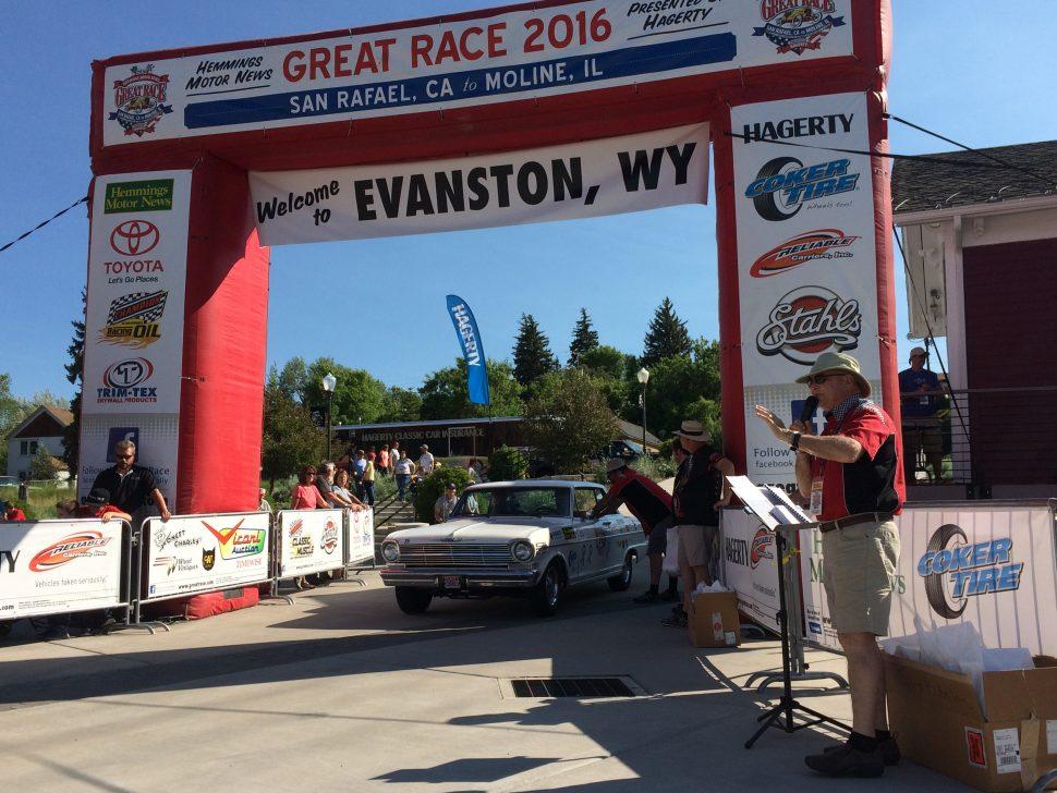 Elko nevada to evanston wyoming the 2016 great race for Elko motors used cars