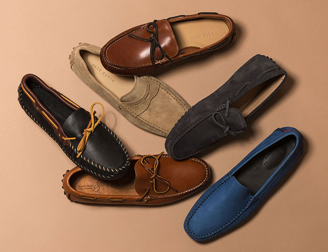 Different Stylish Of Driving Moccasins : Jack Erwin Parker, Minnetonka PW  Driving Moc, Cole Haan Grant Driver, More!