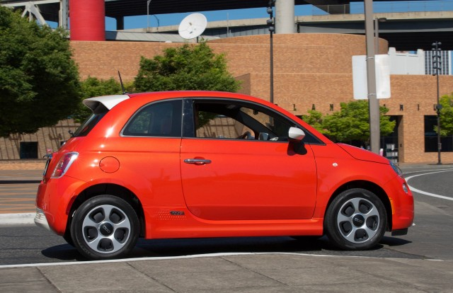 Want To Change In 2017 Used Fiat 500e Electric Cars At 6 500