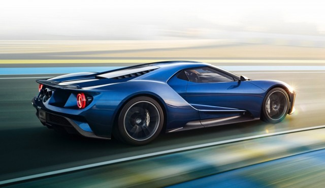 Ford Gt Coming With  Driving Modes Including Track Vmax