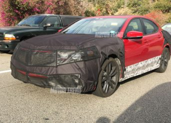 2018-Acura-TLX-prototype-front-three-quarters