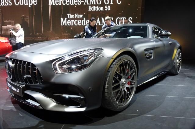 2018 Mercedes-AMG GT C Edition 50
