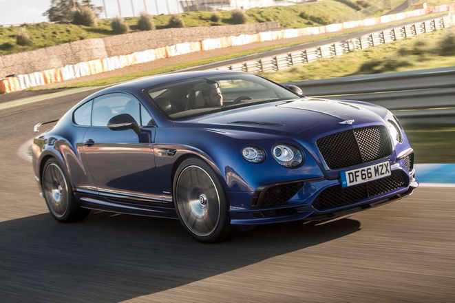 Aj95 Bentley Blue Drive Car: 2017 Bentley Continental Supersports First Drive Review