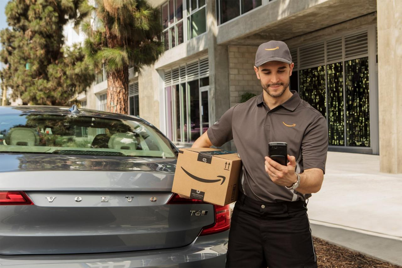 Amazon Volvo Partnership