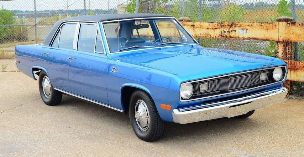 1972 Plymouth Valiant Hemmings Find Of The Day Car