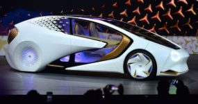 Toyota's CES Concept Car