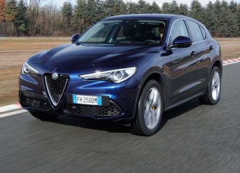 2018-Alfa-Romeo-Stelvio-Q4-front-three-quarter-in-motion